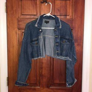 Cropped Jean jacket
